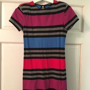 BCBG striped bodycon dress